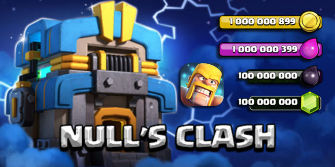 Update of Null's Clash — Private Server with TH 12 (v.10.322)