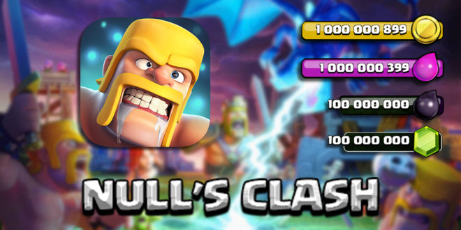 Null's Clash - the Clash of Clans Server from Opegit Studio