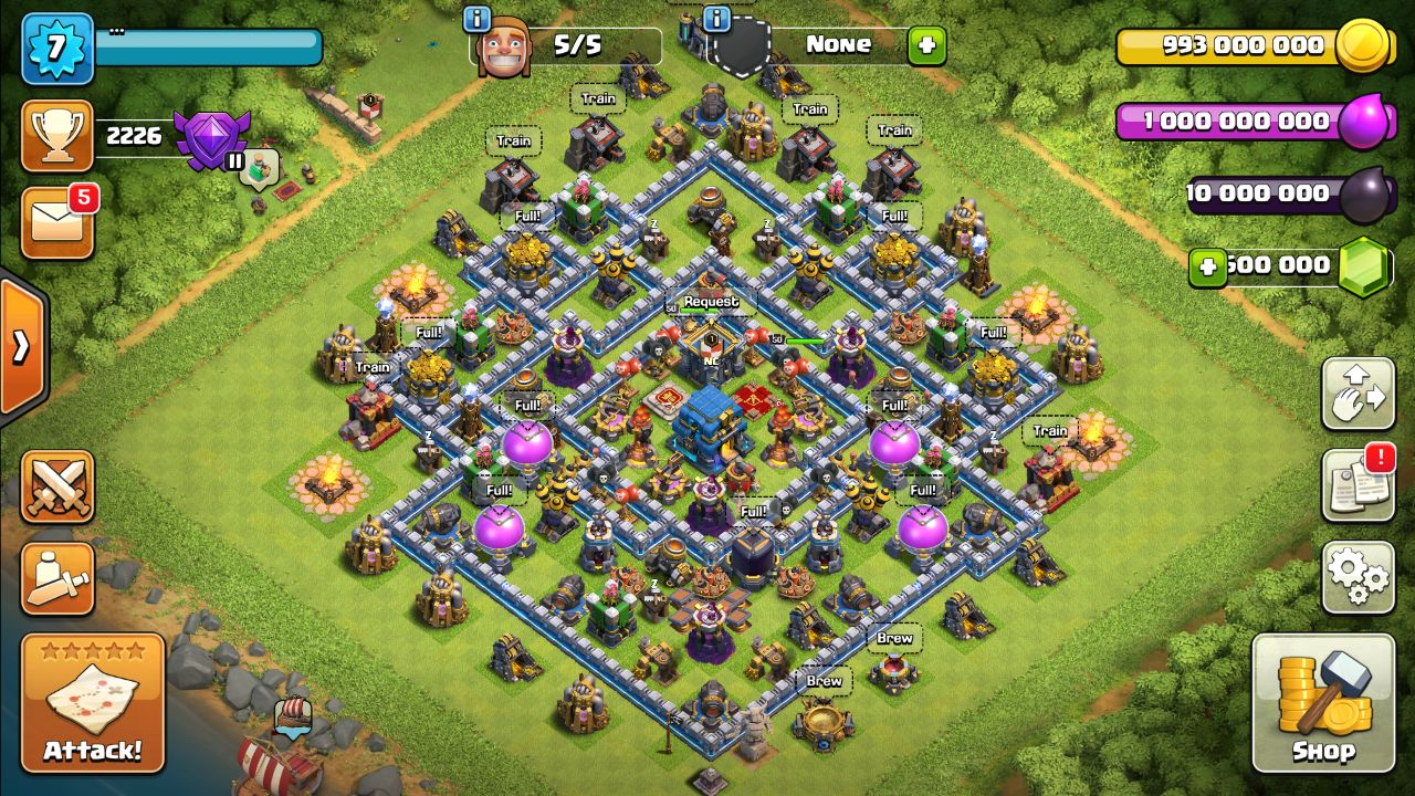 Null's Clash - TH 12
