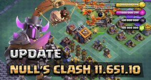 Update of Null's Clash — Private Server with TH 12 (v 10 322