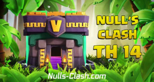 Nulls Clash 14.0.6 - the first private server with TH 14